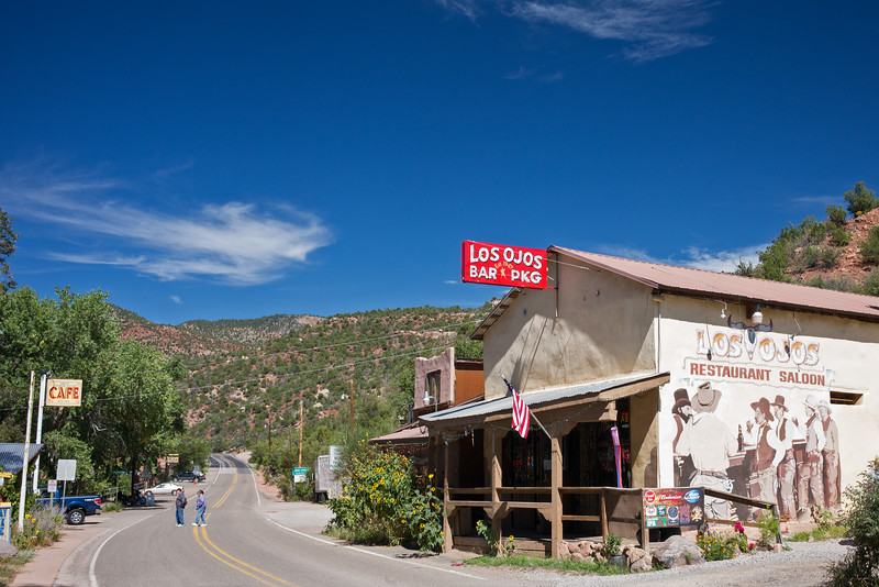Los Osos Bar & Package Store Jemez Springs NM