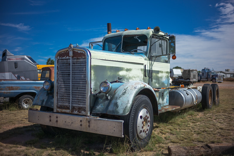 old Kenworth truck cab