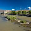 Rio Grande downstream from Cochiti Dam spillway 1