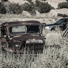 Dodge Power Wagon rusting in grass Budville