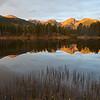 Sprague Lake, early light