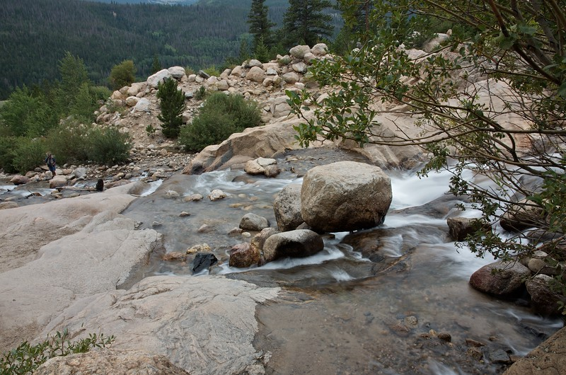 Fishing on the Roaring river