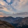 Trail Ridge Road sunset
