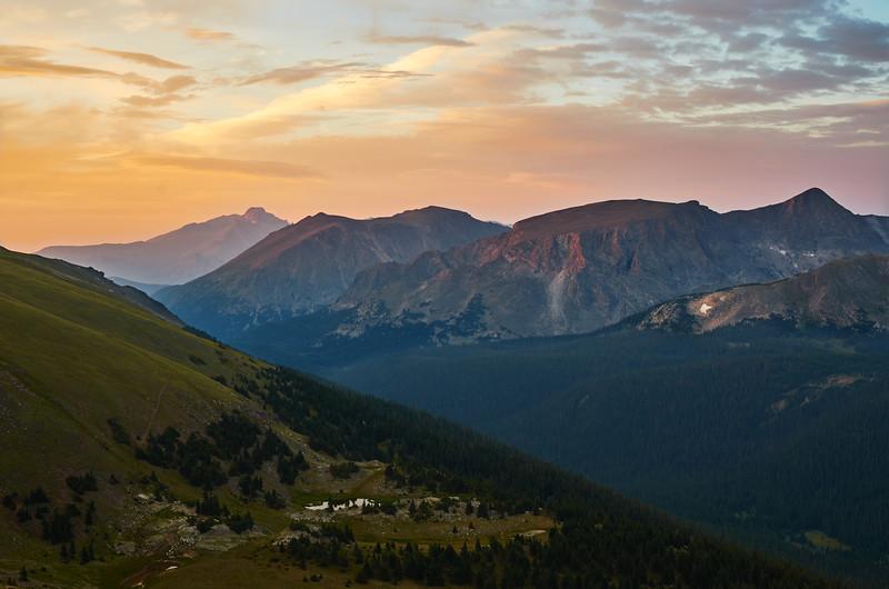 Trail Ridge sunset