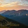 Trail Ridge sunset