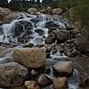 Roaring river at Moraine park