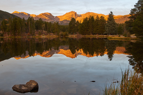 Sprague Lake, Early Light