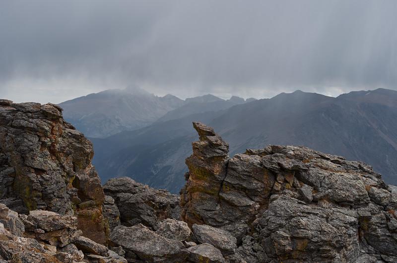 Bad Weather Approaching Rock Cut