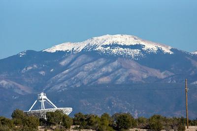 dish antenna Los Alamos labs