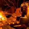 Christmas Eve bonfires Santa Fe