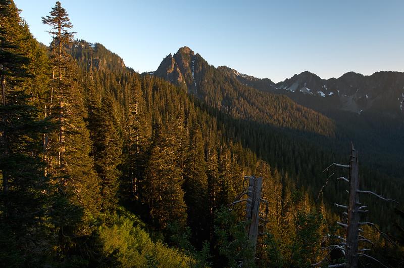 Mt Lane, evening light