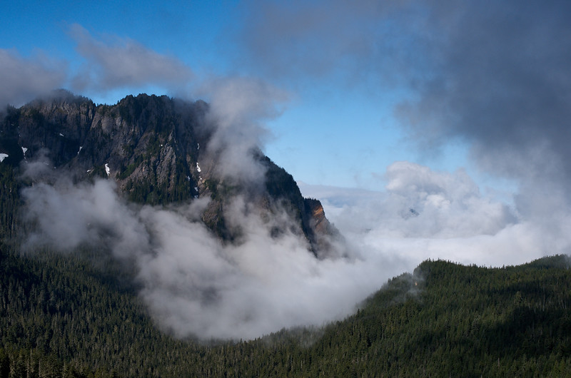 Clouds on Eagle Mountain