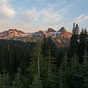 Tatoosh Range at Sunset