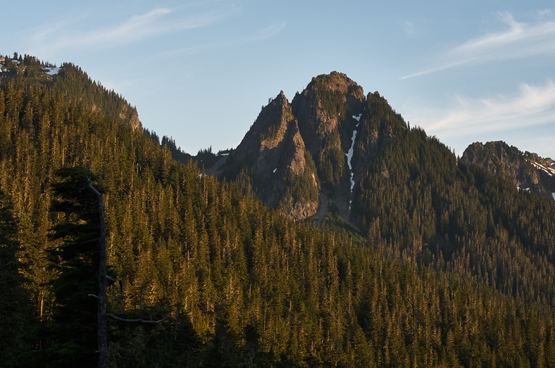Lane Peak, Evening Light