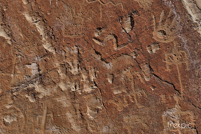 Native Pictograph Detail