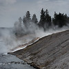 Hot Spring Drains into the Firehole River