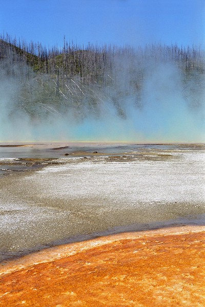 Hot spring colors