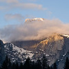 Half Dome evening clouds