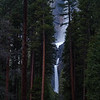 Yosemite falls twilight
