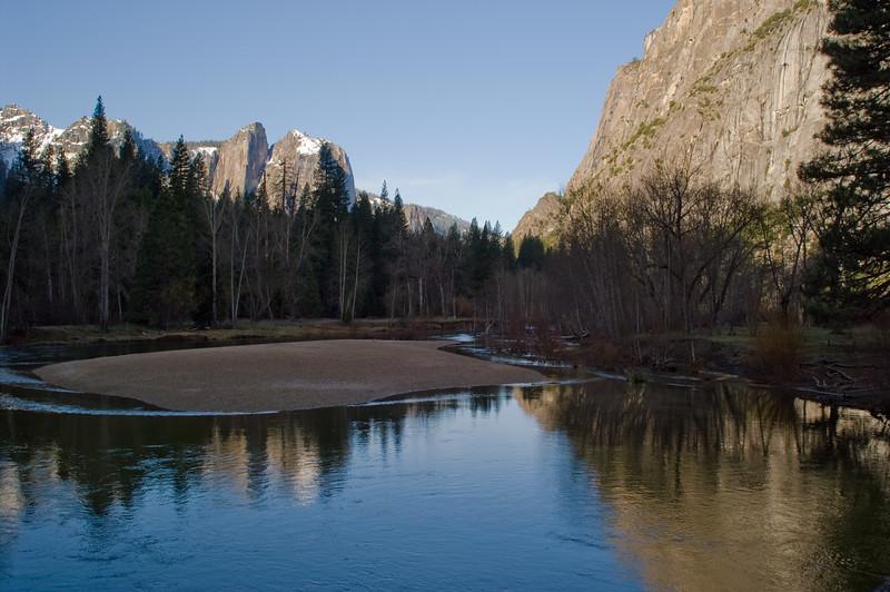 Merced river, morning