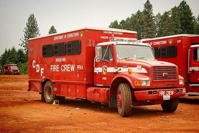 Cal Fire/Department of Corrections Fire Crew transport.