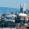 Palace of Fine Arts, Bay Bridge, Coit Tower, Celebrity Cruise ship