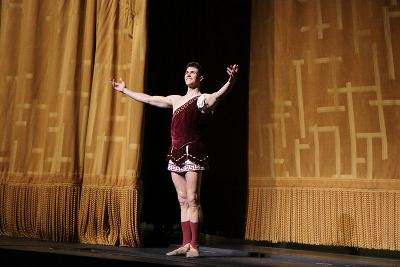 "Roberto Bolle, Sylvia, June 28, 2013  Frederick Ashton of The Royal Ballet created the ballet in 1952 as a star vehicle for Margot Fonteyn and was performed until 1965. Léo Delibes' score is beautiful, a masterpiece of 19th-century ballet music. Tchaikovsky was so impressed with it that he once observed: ""Had I known Sylvia existed, I would not have dared compose Swan Lake!""  <br><br> A problem arose when The Royal Ballet and ABT agreed to co-produce the revival of Sylvia: the choreography was never notated and the only record was a poorly lit black and white film. Christopher Newton, ballet master under Ashton who danced Sylvia during the 1950s kept handwritten notes of the choreography and reconstructed the some of the steps from memory. In addition, costume designs were found in The Royal Ballet's archives in a mislabeled box along with paintings and photographic records of the original sets. The World Premier of the revival of Sylvia was given by The Royal Ballet in 2004 while ABT debuted its version in 2005. See the <a href=""http://www.abt.org/sylvia/"">ABT website</a> for more detail. <br><br> ABT's star power was on full display in Friday night's Sylvia with Polina Semionova and Roberto Bolle leading the cast. Semionova along with tennis star Novak Djokovic appear in <a href=""http://www.fastretailing.com/eng/group/news/1303191700.html""> UNIQLO AIRism underwear</a> advertisements that appear in New York City subway trains (here is a  <a href=""http://www.youtube.com/watch?v=A-wb1RpfUZg ""> video advertisement</a> featuring Polina). Roberto is one of ballet's biggest stars. He has a huge international following as evidenced by his over 100,000 followers on  <a href=""https://twitter.com/RobertoBolle"">Twitter</a>.  <br><br> Polina was Sylvia, a very demanding role both dramatically and technically. She is onstage almost throughout the performance with several very tiring solos. Sylvia is difficult dramatically as she must run the gamut of roles: she is a powerful leader of an Amazonian tribe; a woman who morns the loss of Aminta after she shoots him with an arrow; a seductress of Orion in an effort to gain her freedom; and finally a woman who falls in lover with Aminta. Polina danced well, except for a diagonal jumping and pirouette section in Act I that seemed a bit off the music. Her solos were beautiful, taking full advantage of her long flowing arms.  <br><br> Bolle was the Aminta the shepherd, who is in love with Sylvia. Roberto was strong and steady throughout, his solos were rock solid without waiver. Technically, he had a nice saute de basque section and had a very nice triple pirouette which finished in releve, pausing a few seconds for effect. His partnering skills are remarkable, showering attention on his beloved Sylvia. Polina and Roberto connected well, particularly when he removes Sylvia's veil, revealing his true love as he is overcome with emotion. Polina and Roberto make a nice pair, dancing in unison with feeling. Several jumping fish dives were done well and drew applause. <br><br> I also noted the corps dancing in Act I of the woodland creatures, an Amazonian tribe dancing in celebration of their hunt. This is a dance of female empowerment with tribe members dancing with bows and arrows: ""Don't mess with us! We rule the forest!"" The dancers were in synch in the fouetté section; not an easy task given they are performing the step with a bow in one hand. Also, the lighting in the first set is beautiful, simulating a blue moonlit night that provides illumination for the dancing. <br><br> Jared Matthews is Orion, the evil hunter. I have seen Jared perform several times this year and this performance continues his hot streak as he is having a very good season. His two pas de deux with Polina were appropriately awkward and tense as Sylvia is trying to escape."