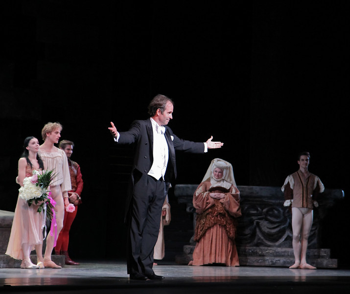 """Charles Barker, Romeo and Juliet, June 14, 2013 <br><br> I thoroughly enjoyed ABT's Romeo and Juliet on Friday, June 14 with Natalia Osipova as Juliet, David Hallberg as Romeo, Jared Matthews as Mercutio, Joseph Gorak as Benvolio, and Patrick Ogle as Tybalt. I haven't seen Osipova in a dramatic role before and was impressed by her portrayal of the evolution of Juliet; in Act 1 Scene 2 she is a young, playful, immature little girl who gasps in amazement when the nurse points out her developing physique. Fast forward to Act III Scene 1. This is a particularly heavy scene as she refuses to marry Paris (Sascha Radetsky). She does a bourrée quickly away from him, much to the displeasure of her parents that threaten to disown her. In Osipova, there are traces of Giselle's mad scene as the tension mounts as she rejects Paris and faces the severe consequences.   <br><br> Hallberg portrays a playful, rebellious young man thoroughly transformed by his love of Juliet. He was in tune with MacMillan's vision of Romeo as a young man swept off his feet by love, dancing in dizzy exultation. As usual, his dancing was solid and always in character, showcasing his long line and perfectly arched feet.  Although a dramatic ballet, it has a number of technical elements that maintain my interest such as Hallberg's nice double sauté de basque diagonal repeated effortlessly four times. The balcony scene pas de deux was intense and dramatic as the young lovers celebrate their union with reckless abandon. Osipova is criticized for her excessive expressiveness (mugging it up); I did not detect this trait and thought her portrayal of Juliet was always in character.  <br><br> I was particularly impressed with Jared Matthews as Mercutio and Joseph Gorak as Benvolio. After seeing Gorak in Drink to Me Only With Thine Eyes earlier this season, I asked the woman next to me """"Who is that guy?"""" He has nice extension and turns and I ended up watching him more than the others in the Pas de trois. I liked """