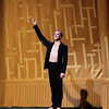 David Hallberg, Shostakovich Trilogy, June 1, 2013<br /> <br /> Alexei Ratmansky's Shostakovich Trilogy is an exciting, complex, multifaceted work with never a dull moment. Trilogy premiered on Friday, May 31, 2013.  I saw the premier and the Saturday evening performance, which had the same cast. There is a lot going on in the three pieces and it would be difficult to take in all of the action with just one viewing.  I look forward to seeing it in future seasons as even two viewings is not enough to absorb all of the nuances in this fast-paced ballet. Ratmansky's stage is a busy one, with dancers constantly darting in and out of the action, with changing groups and combinations of dancers. <br /> <br /> The work consists of three seemingly unrelated pieces; if they are related, I missed the linkage. The first is Symphony #9, which premiered at City Center in October 2012. The scenery by George Tsypin consists of drawings of World War I-type airplanes, blimps, and  people, some carrying red flags. The two performances I saw featured Polina Semionova and Marcelo Gomes, Herman Cornejo, and Simone Messmer and Craig Salstein. Polina and Marcelo are a great pair and perfectly matched-I saw them in Symphony in C  earlier in the 2013 season. She is becoming one of my favorites at ABT. There are several lighter moments in their dancing with playful movements, demonstrating a sense of humor from Ratmansky. Herman is incredible; in one notable section he performs multiple entrechat six (six beats), each very clean with clear leg separation on the first two leg crossings (four beats), with an exaggerated separation on the last crossing. Very nice. He continues the beats while jumping to stage right and off the stage. Craig Salstein is very expressive and adds a slightly comedic touch. <br /> <br /> The second piece is Chamber Symphony and features David Hallberg-dressed in a jacket with no shirt-as a lost, tormented soul, desperately searching for something. He moves frenetical