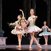 Veronika Part and Stella Abrera, Sleeping Beauty, July 6, 2013<br /> <br /> Veronika Part was spectacular as Aurora in ABT's final Met performance of 2013 of Sleeping Beauty. From the moment she appeared on the balcony and descended the stairs to join her 16th birthday party, Veronika took command of the stage with energy, confidence, and style with precise technique and grace, taking full advantage of her long, pure, elegant line and nice turnout and extension. I have not seen Aurora performed this well in a long time. <br /> <br /> Veronika performed the difficult Rosa Adagio nicely with great control and confidence. Some dancers perform this adagio well but with a nervous look of an impending root canal; from my vantage point she did not display any anxiety before or during the adagio. During her balances, she raised her arms to fifth en haut (arms above her head) with a pause before placing her hand down to her next prince. Some dancers do not raise their arms to fifth position, but quickly and anxiously grab the hand of the next partner in desperation. Not Veronika as there were no rough edges Saturday evening. After the adagio in the forest scene, she performed a nice solo with ronde de jambe to a jete diagonal that was uniquely done. Also notable during the pas de deux solo was the way she moved her hands in sync to the beautiful music. <br /> <br /> Marcelo Gomes perfectly complemented Veronika as Prince Desire. He also has a nice long line and great extension. He is a perfect prince as he showered attention to his new love, beaming in admiration. He partnered her effortlessly throughout and his solos were also graceful with nice deep plies ending in a tight fifth position on his tours and jumps. He makes dancing look very easy, a sign of a great dancer. <br /> <br /> Stella Abrera was also very good as the Lilac Fairy. She was particularly convincing in Act II when she convinces Prince Desire to stay in the mysterious forest by granting him a vision of Aurora's beauty. With the Lilac Fairy's help, the prince defeats the evil Carabosse (Martine Van Hamel) and awakens Aurora with a kiss and the spell is broken. The three dancers do a remarkable job describing the story with expressive gestures and mime.<br /> <br /> I was happy to see Misty Copeland as Princess Florine in the Bluebird pas de deux with Blaine Hoven, I haven't seen Misty dance much this year; she was light, energetic, and airy as a bird. Blaine did a fine brise vole beat diagonal that epitomizes the Bluebird solo, capped off by double tours with arms in fifth en haut (arms raised above his head). <br /> <br /> Sad to see the ABT season end. I hope you enjoyed my curtain call photographs and commentary. I make the photos available through a Creative Commons copyright. You may use the photos for non-commercial purposes such as blog posts, Facebook posts, tweets, etc as long as you provide attribution to my website. Wouldn't a photo of Roberto, Marcelo, or Veronika make a nice desktop background photo on your computer? You can't beat the price (free). I will now focus on houses of worship and landscapes in the short term; longer term, maybe a dance/photography blog. I will keep you posted on Twitter. Thanks for tuning in. Kent