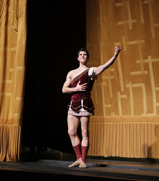 "Roberto Bolle, Sylvia, June 28, 2013 <br><br> Frederick Ashton of The Royal Ballet created the ballet in 1952 as a star vehicle for Margot Fonteyn and was performed until 1965. Léo Delibes' score is beautiful, a masterpiece of 19th-century ballet music. Tchaikovsky was so impressed with it that he once observed: ""Had I known Sylvia existed, I would not have dared compose Swan Lake!""  <br><br> A problem arose when The Royal Ballet and ABT agreed to co-produce the revival of Sylvia: the choreography was never notated and the only record was a poorly lit black and white film. Christopher Newton, ballet master under Ashton who danced Sylvia during the 1950s kept handwritten notes of the choreography and reconstructed the some of the steps from memory. In addition, costume designs were found in The Royal Ballet's archives in a mislabeled box along with paintings and photographic records of the original sets. The World Premier of the revival of Sylvia was given by The Royal Ballet in 2004 while ABT debuted its version in 2005. See the <a href=""http://www.abt.org/sylvia/"">ABT website</a> for more detail. <br><br> ABT's star power was on full display in Friday night's Sylvia with Polina Semionova and Roberto Bolle leading the cast. Semionova along with tennis star Novak Djokovic appear in <a href=""http://www.fastretailing.com/eng/group/news/1303191700.html""> UNIQLO AIRism underwear</a> advertisements that appear in New York City subway trains (here is a  <a href=""http://www.youtube.com/watch?v=A-wb1RpfUZg ""> video advertisement</a> featuring Polina). Roberto is one of ballet's biggest stars. He has a huge international following as evidenced by his over 100,000 followers on  <a href=""https://twitter.com/RobertoBolle"">Twitter</a>.  <br><br> Polina was Sylvia, a very demanding role both dramatically and technically. She is onstage almost throughout the performance with several very tiring solos. Sylvia is difficult dramatically as she must run the gamut of roles: she is a powerful leader of an Amazonian tribe; a woman who morns the loss of Aminta after she shoots him with an arrow; a seductress of Orion in an effort to gain her freedom; and finally a woman who falls in lover with Aminta. Polina danced well, except for a diagonal jumping and pirouette section in Act I that seemed a bit off the music. Her solos were beautiful, taking full advantage of her long flowing arms.  <br><br> Bolle was the Aminta the shepherd, who is in love with Sylvia. Roberto was strong and steady throughout, his solos were rock solid without waiver. Technically, he had a nice saute de basque section and had a very nice triple pirouette which finished in releve, pausing a few seconds for effect. His partnering skills are remarkable, showering attention on his beloved Sylvia. Polina and Roberto connected well, particularly when he removes Sylvia's veil, revealing his true love as he is overcome with emotion. Polina and Roberto make a nice pair, dancing in unison with feeling. Several jumping fish dives were done well and drew applause. <br><br> I also noted the corps dancing in Act I of the woodland creatures, an Amazonian tribe dancing in celebration of their hunt. This is a dance of female empowerment with tribe members dancing with bows and arrows: ""Don't mess with us! We rule the forest!"" The dancers were in synch in the fouetté section; not an easy task given they are performing the step with a bow in one hand. Also, the lighting in the first set is beautiful, simulating a blue moonlit night that provides illumination for the dancing. <br><br> Jared Matthews is Orion, the evil hunter. I have seen Jared perform several times this year and this performance continues his hot streak as he is having a very good season. His two pas de deux with Polina were appropriately awkward and tense as Sylvia is trying to escape."