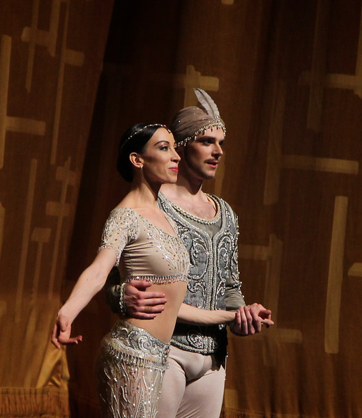 Viktoria Tereshkina and Vladimir Shklyarov, La Bayadère, May 29, 2014