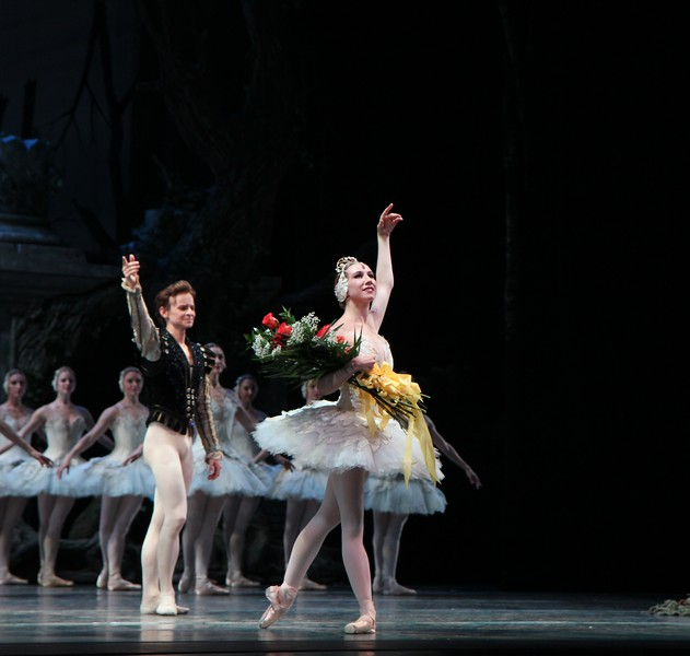 Isabella Boylston and Daniil Simkin, June 26, 2014