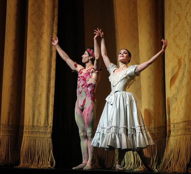Sarah Lane and Herman Cornejo, Le Spectre de la rose, October 24, 2015