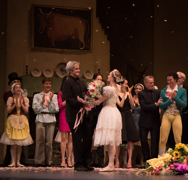 Gillian Murphy and Kevin McKenzie, Gillian Murphy 20th Anniversary with ABT Celebration, May 28, 2016