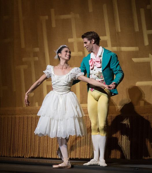 Stella Abrera and James Whiteside, La Fille mal gardée, May 26, 2016