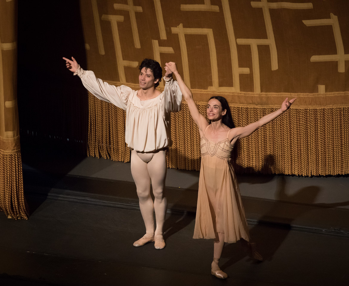 Alessandra Ferri and Herman Cornejo, Romeo and Juliet, June 23, 2016