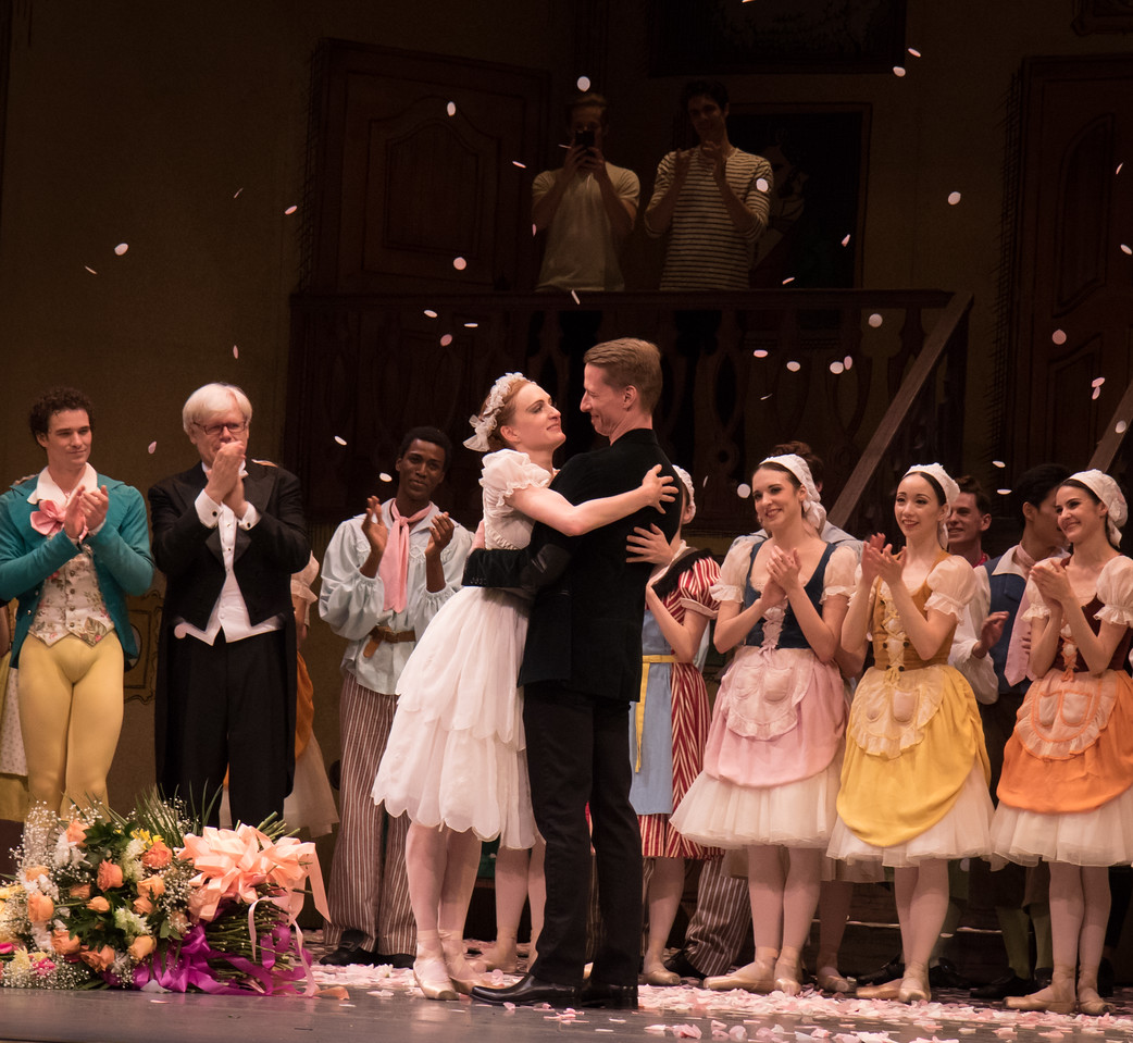 Gillian Murphy and Ethan Stiefel, Gillian Murphy 20th Anniversary with ABT Celebration, May 28, 2016