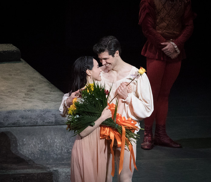 Hee Seo and Roberto Bolle, Romeo and Juliet, June 24, 2016
