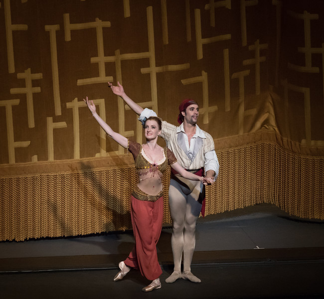 Mathias Heymann and Gillian Murphy, Le Corsaire, June 1, 2016