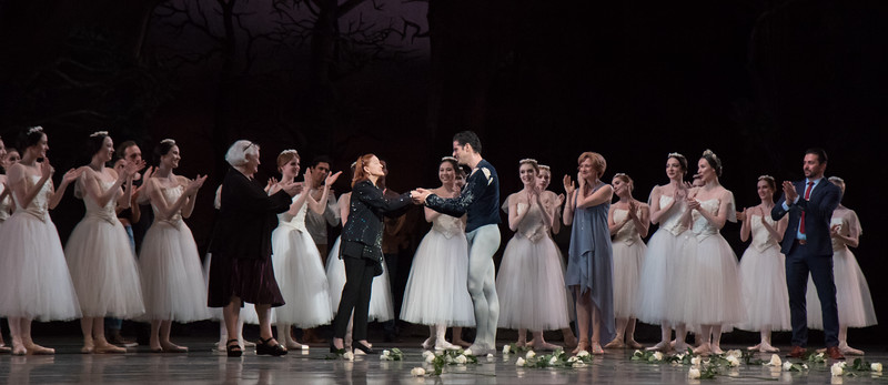 Marcelo Gomes, Irina Kolpakova, Susan Jones, Marcelo's 20th Anniversary ABT Performance, Giselle, May 30, 2017