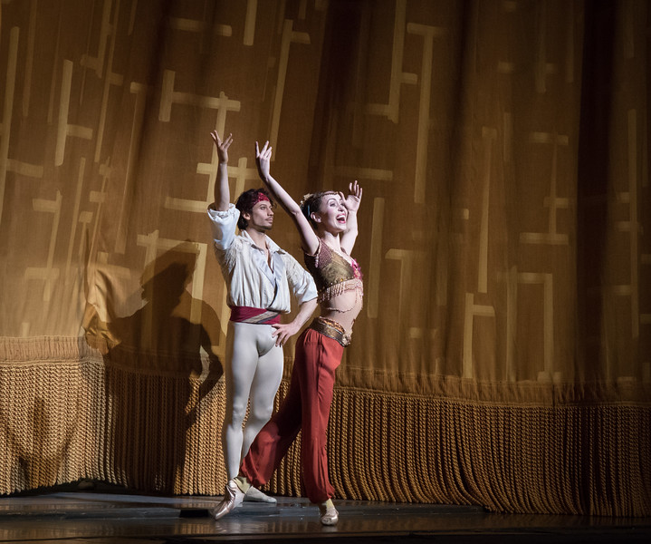Skylar Brandt and Herman Cornejo, Le Corsaire, June 8, 2017