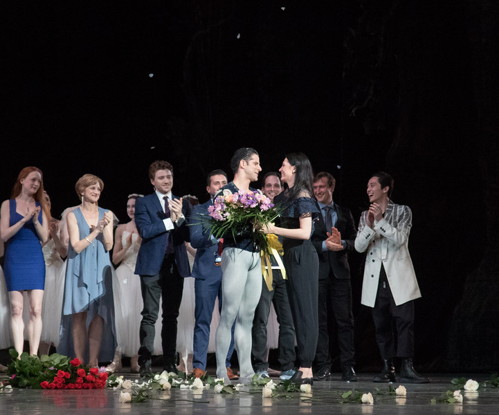 Marcelo Gomes and Veronika Part, Marcelo's 20th Anniversary ABT Performance, Giselle, May 30, 2017