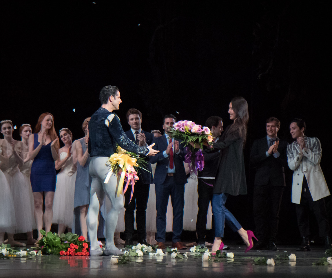 Marcelo Gomes and Hee Seo, Marcelo's 20th Anniversary ABT Performance, Giselle, May 30, 2017