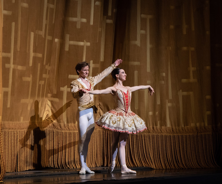 Isabella Boylston and Daniil Simkin, Don Quixote, June 28, 2018