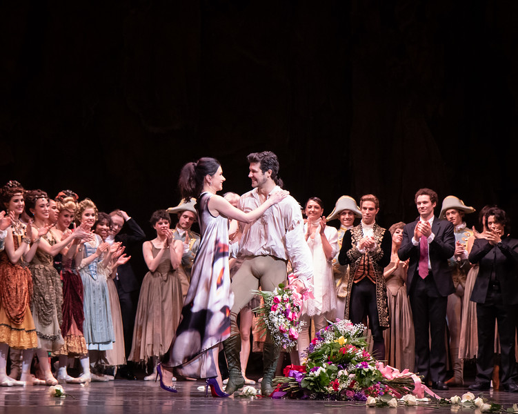 Roberto Bolle FInal ABT Performance with Irina Dvorovenko , Manon, June 20, 2019