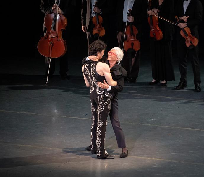Herman Cornejo and Twyla Tharp, Herman Cornejo 20th Anniversary ABT Celebration, October 26, 2019