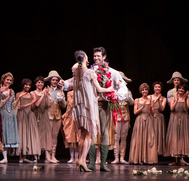 Roberto Bolle FInal ABT Performance, Manon with Christine Shevchenko, June 20, 2019