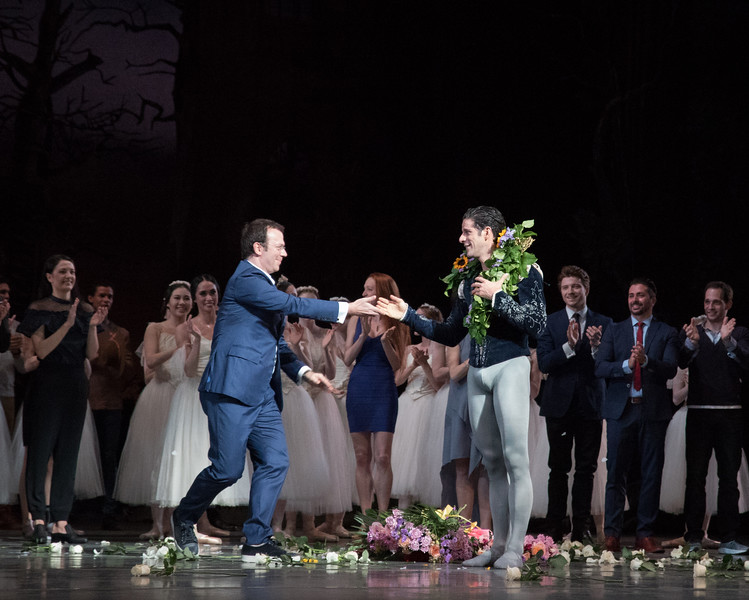 Marcelo Gomes and Alexei Ratmansky, Marcelo's 20th Anniversary ABT Performance, Giselle, May 30, 2017