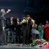 Angel Corella Final Performance, June 28, 2012<br /> <br /> Artistic Director Kevin McKenzie presents Angel with a wreath.